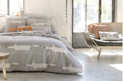 linge de lit MR FOX GRIS - SCION LIVING