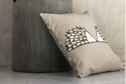 coussin garni SPIKE GRIS - SCION LIVING