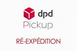 réexpédition en RELAIS DPD Pickup