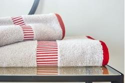 linge de toilette CHAMPION rubis - BLANC DES VOSGES
