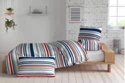 linge de lit ATLANTIC bleu - INSPIRATION par ANNE DE SOLENE
