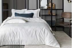 linge de lit DIAMOND coloris blanc - ANNE DE SOLENE