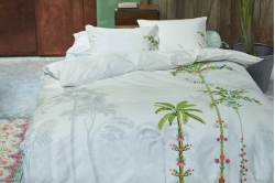linge de lit INDIAN PALMS  white - PIP STUDIO