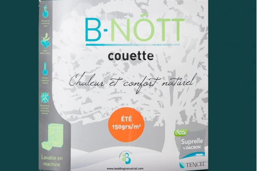 Couette B.NOTT été 150 gr/m² - Tencel®