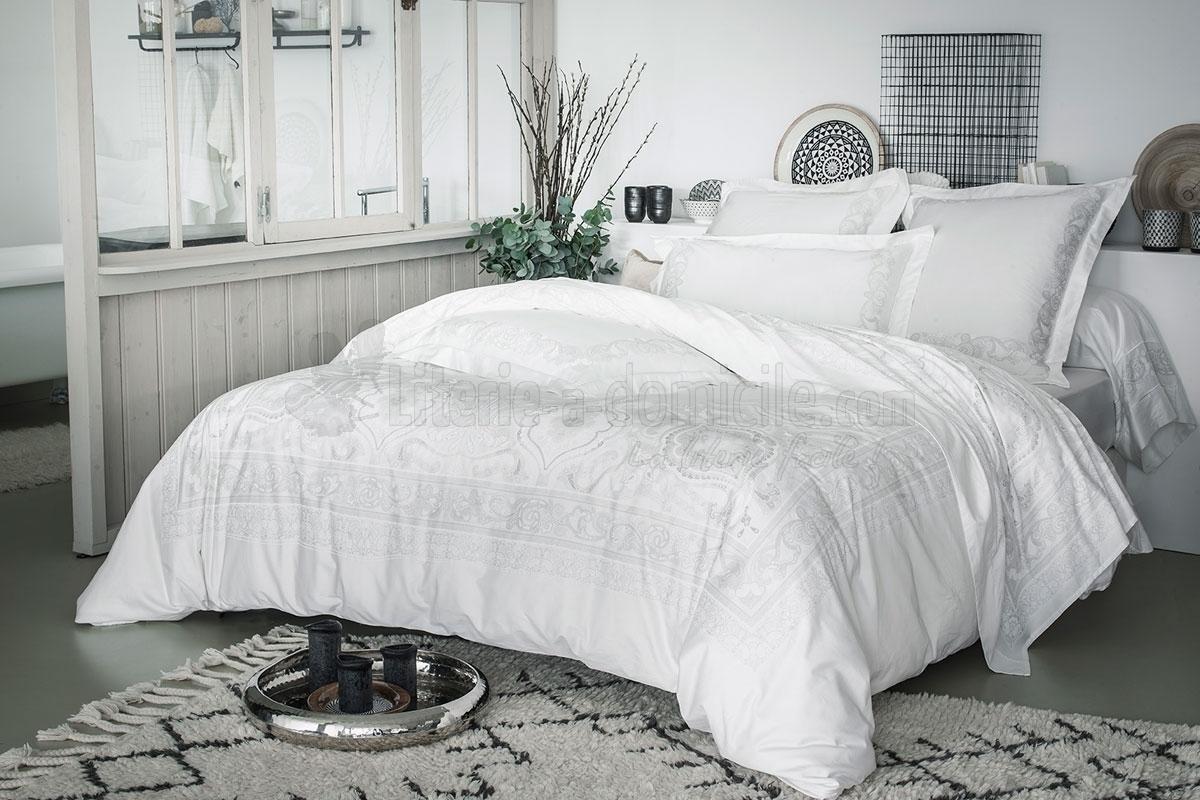 linge de lit majest de anne de solene. Black Bedroom Furniture Sets. Home Design Ideas