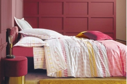 linge de lit BELLE EPOQUE bois de rose - BLANC DES VOSGES