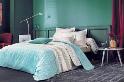 linge de lit BELLE EPOQUE ficelle - BLANC DES VOSGES
