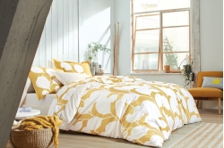 linge de lit STEPPES ocre - SCION LIVING