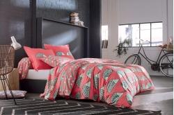 linge de lit SPIKE framboise - SCION LIVING