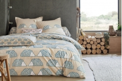 linge de lit SPIKE ivoire - SCION LIVING