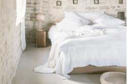 linge de lit lin lavé VITI
