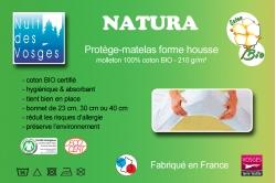 protège matelas NATURA - coton BIO