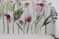 jeté de lit OKARA rose motif floral