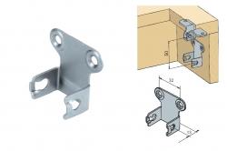 platine inférieure verticale MULTIFLEX