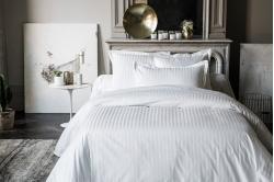linge de lit ALLURE - blanc - ANNE DE SOLENE