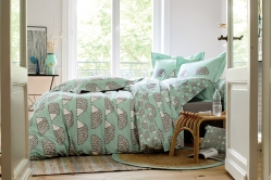 Parure de lit SPIKE AQUA - SCION LIVING