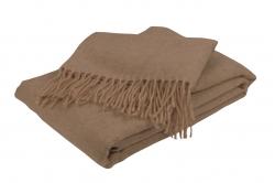 Plaid en poil de chameau SAMARKANDE - TOISON D'OR