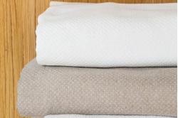 dessus de lit piqué de coton PERIGORD - TOISON D'OR