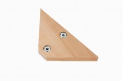 masse d'angle triangulaire bi-position