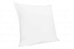 oreiller carré OSSEJA garnissage naturel enveloppe coton...