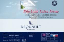 Oreiller PILO GOLD extra ferme - DROUAULT