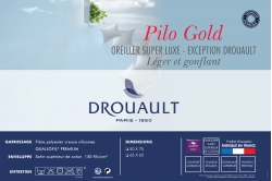 Oreiller PILO GOLD LIGHT - DROUAULT