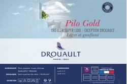 oreiller PILO GOLD