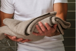 Linge de toilette INTIME SABLE - BLANC DES VOSGES