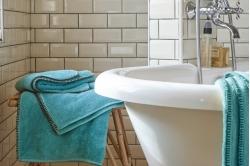 Linge de toilette INTIME CÉLADON - BLANC DES VOSGES