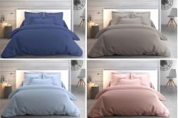 linge de lit uni COTON PERCALE - ANNE DE SOLENE