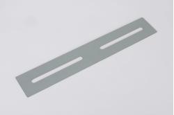 PLATINE DE LIAISON acier 80/230 (la paire)
