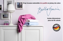 drap housse jersey BELLA GRACIA