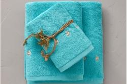 COCO turquoise éponge