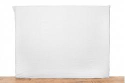 housse de tête de lit en lin lavé blanc VITI - HARMONY