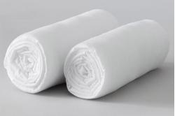 drap housse SNOW en coton biologique - MONALISON