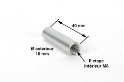 DOUILLE LISSE 10 mm