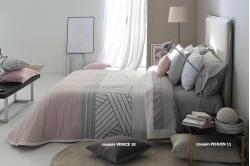 Jeté de lit COACH ROSE/ECRU - REIG MARTI