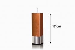 pied de lit TAHITI hauteur 17 cm (lot de 4)