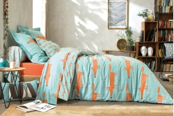 Linge de lit MR FOX CÉLADON - SCION LIVING