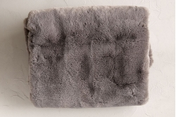 Plaid ANGORA GRIS - SYLVIE THIRIEZ