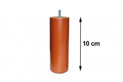 pied de sommier CYLINDRIC 65 bois hauteur 10 cm (lot de 4)