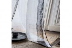 rideau en lin ALERIA BLANC - HARMONY