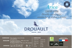 oreiller ARICA 65x65 (fin de série) - DROUAULT