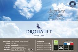 couette ANGELINE Protect Total 200 été (fin de série) -...