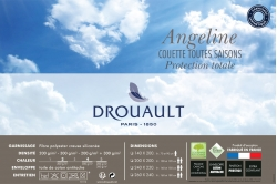 couette ANGELINE Protect Total 200+300 - 4 saisons (fin...