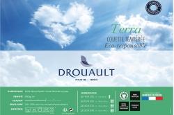 couette eco-responsable 300 gr TERRA - DROUAULT