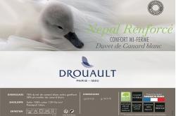 Oreiller mi-ferme NÉPAL RENFORCÉ - DROUAULT