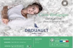Oreiller naturel COTON BIOLOGIQUE - DROUAULT