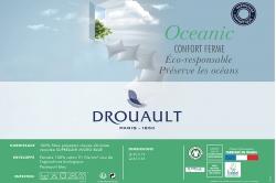 oreiller OCÉANIC en matériaux recyclés
