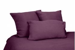 linge de lit lin lavé VITI purple - HARMONY